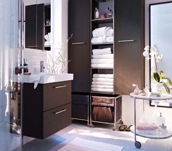 bagno piccolo idee d arredo ikea cestini bagno la lavanderia uno spazio per nascondere